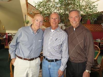 Three grand grads from St. Bernard's High School, Playa del Rey, CA - the Pioneering Class of 1961.