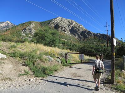 Summit is 6980' - http://utah.com/hiking/malans-peak