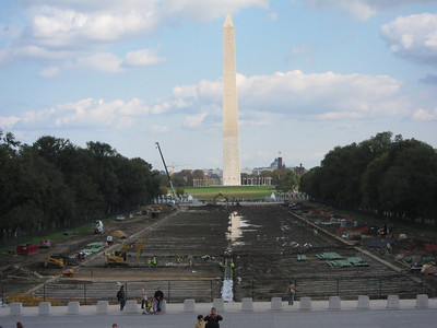 ... and the Washington Monument was closed due to recent earthquake damage.
