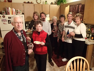 An evening of good cheer, graciously hosted by Jean & Bob.