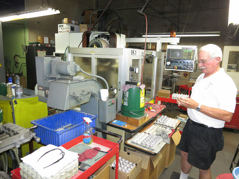 OK, late Tuesday afternoon and a quick visit to Scot's company in Glendora - Millipart. Check it out: http://www.millipart.com/