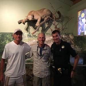 Friday morning - catching Ranger Kevin at his visitor center office.