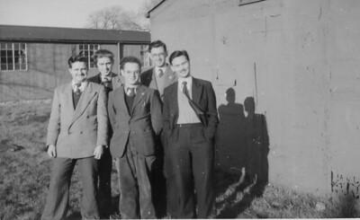 018 Charlie, Ron, Eddy, Bruce and Taffy, Stone 1951