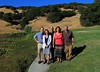 At Nicholson Ranch Winery celebrating 50th Birthdays:  Alvin, Lisa, Allen, Judy, Howard