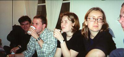 Phillipe, Sergio, Claudia, & Gosha, Paris