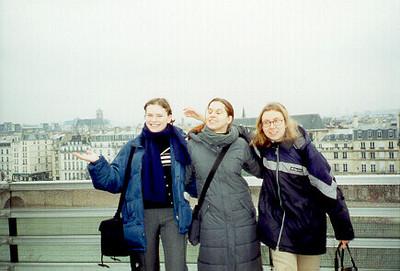 Marta, Denise, & Gosha, Paris