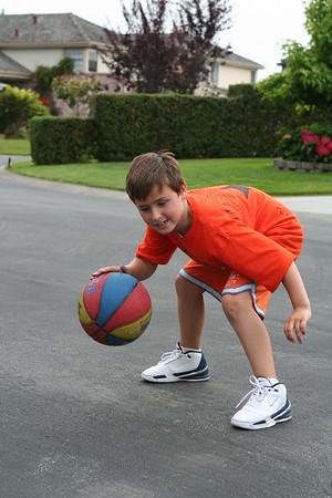 Basketball Doggies, Dino, Reed, AJ July 06