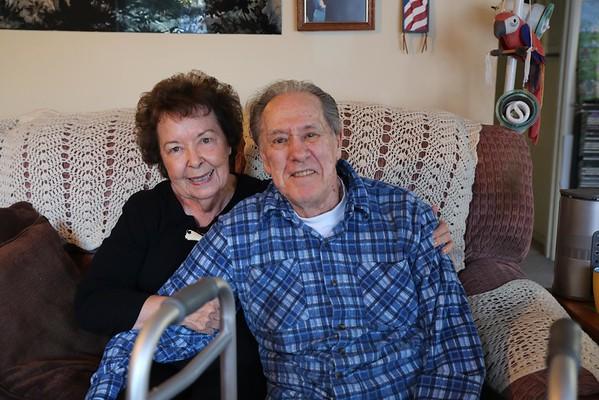 Uncle Charlie and Aunt Lois, Dec. 2014