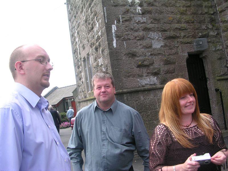 John, Postie and Elaine.