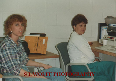 Sheila Wolff and Wanda Ballowe at Virginia Power Bremo Power Station