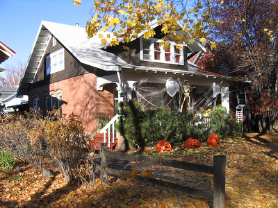 408 Connell - this is the house in Missoula where my mom grew up. I have lots of early memories of playing in the fall leaves in the front yard.