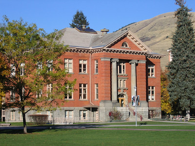 "Jeannette Rankin Hall. Rankin, a Missoula native, was a suffragist, pacifist, founding Vice President of the American Civil Liberties Union and the first woman elected to Congress, before women even had the right to vote in 1917. She voted against entering war in both the first and second world wars. ""As a woman, I can't go to war and I refuse to send anyone else. I vote 'NO'"" She was also a social worker. One of my heroes."