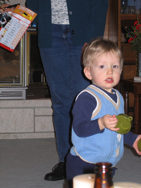 My nephew David. His big brother Jesse is my only other nephew on my Dad's side of the family.