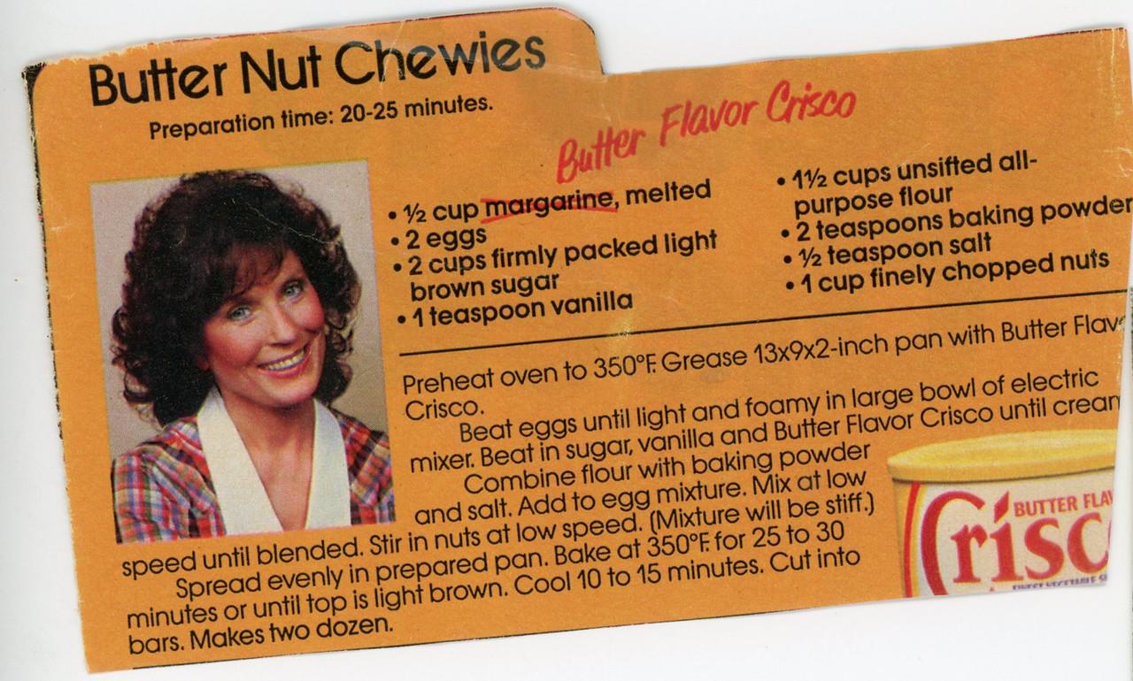 Butter Nut Chewies