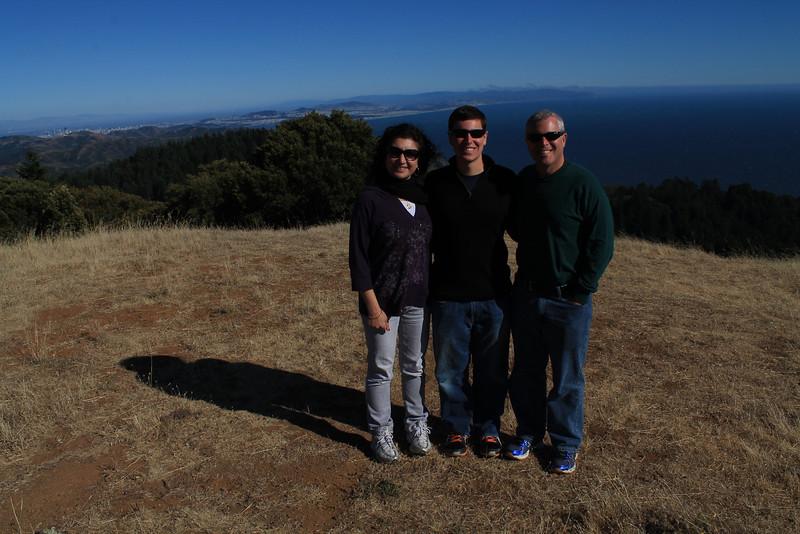 At Trojan Point, Mount Tamalpais
