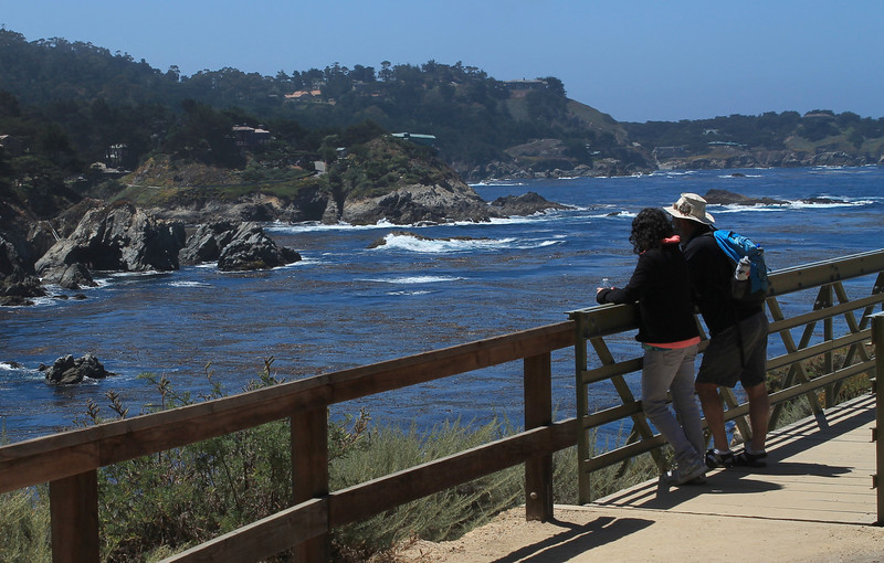 Iris and Seth at Point Lobos State Reserve