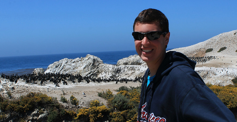 Daniel at Bird Island, Point Lobos
