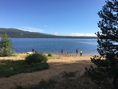 Some time at Turquoise Lake.