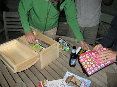 What would treasure chest be without treasure & beer.