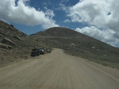 Aaargh - thar she blows, mates - Pikes Peak, 14,110' above Lakeville and Santa Clarita.