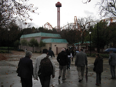Due to the rain the Park and even the Tower were closed.
