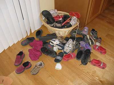 The fabled shoe burial ground.