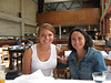 Sara & Debbie.  Brunch @ Foreign Cinema, San Francisco