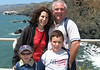 Rebecca, Rachel, Ezra, & Ben at Point Bonita Lighthouse.