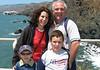 Rebecca, Rachel, Ezra, & Ben at Point Bonita Lighthouse.