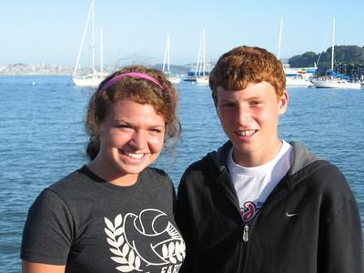 Sara & Jonathan in Sausalito