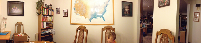 Joel is good at taking panorama shots - even indoors.