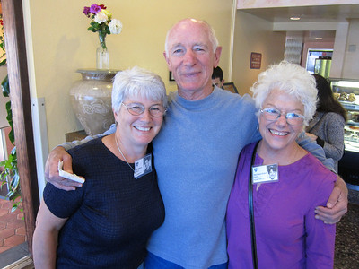 My wonderful buds: Sandy, Mike and Marianne (Ecker) Heames.