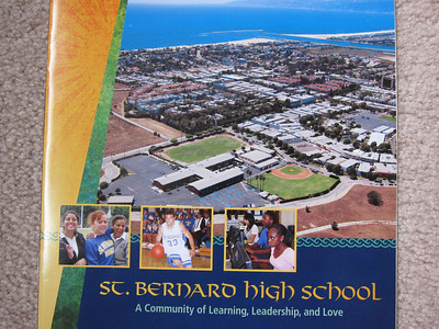 Sunday morning - back to St Bernard High School.