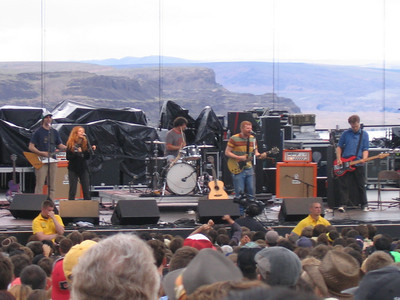 The New Pornographers put on a great set.