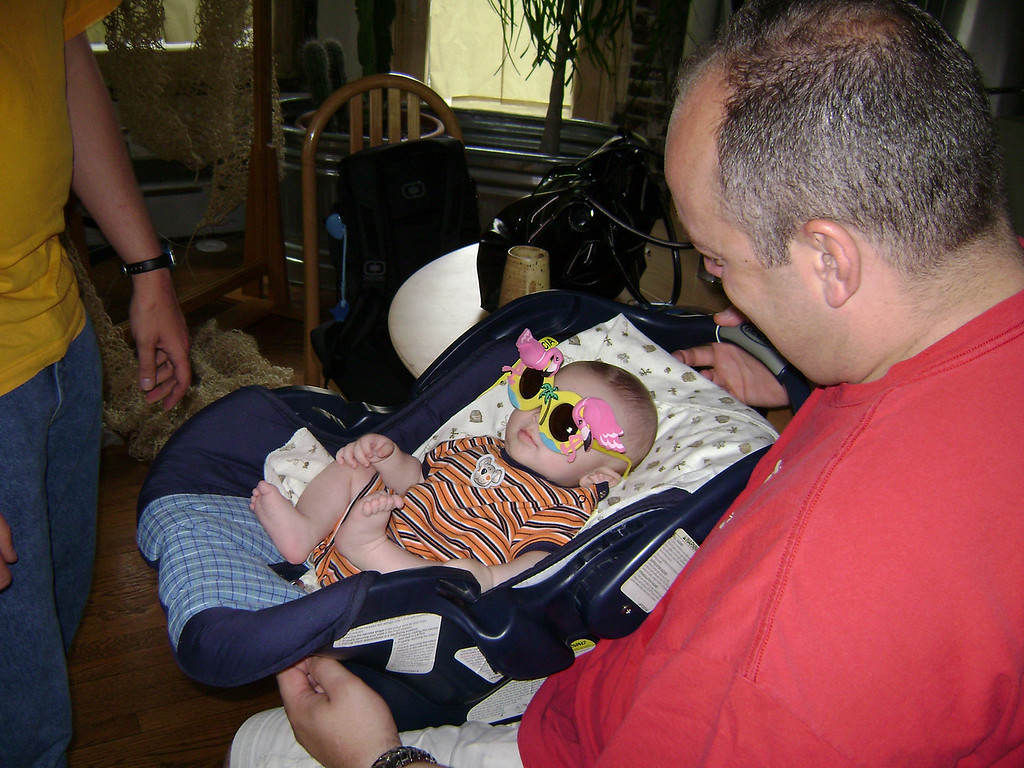 Darrin and Lucian Gunn when Angel, Darrin, and Lucian visited the Berry's.  May, 2008