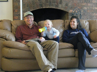 [Joel with his new iPad.]