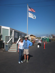 The next morning - visit to the Bolsa Chica Wetlands Preserve.