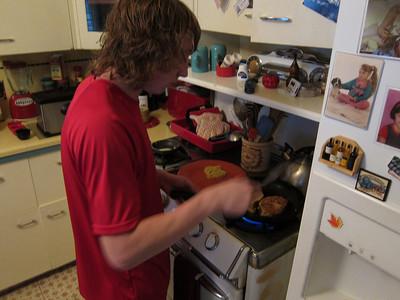 Superb breakfast by Julian.