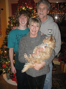 A great family shot, though missing the cat. :)