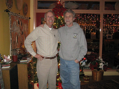 Bill & Chris - buddies from before time began.