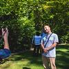 Igor Posing for Photo Snoqualmie Alcove