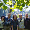 Family at Snoqualmie Alcove