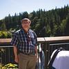 Boris in Front of Snoqualmie Falls