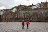 The Finale Day 11. From Littlebeck through Scary Wood, Moors then the Coastal Headway to Robin Hood Bay. Everyone's Elated. Fred gets to visit Whitby Abbey.