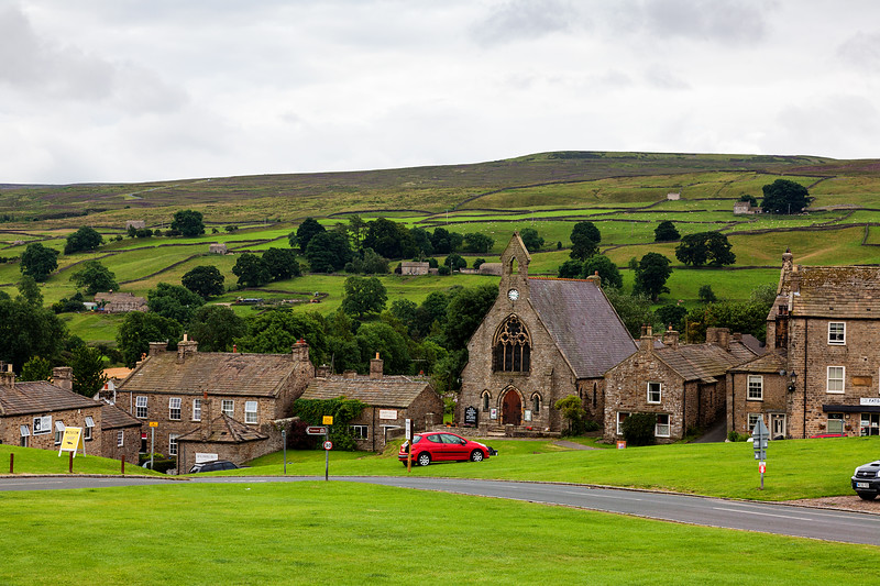 Day 7   Yorkshire Dales. From the village of Reeth to Richmond and the 11th century Norman Castle