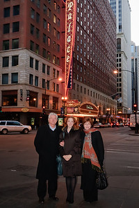Don, Casey and Kathy at Les Miserables - Chicago