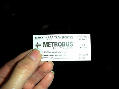 Being BART experts, El Metro was very easy to navigate.  This was our main mode of transportation other than walking.