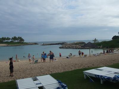 main lagoon at the hotel