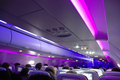 Our journey to Peru started on a late-night Virgin America flight. We flew from SFO to LAX, where we spent the night before taking an early morning flight to San Salvador, then finally to Lima.