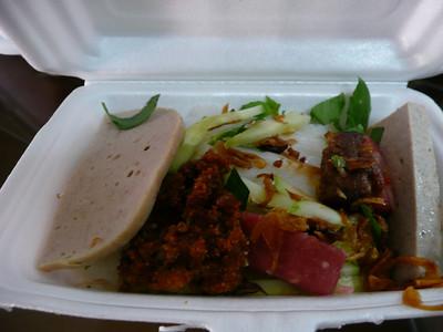 Banh cuon breakfast
